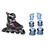 Zetrablade Womens Inline Skates with Pads