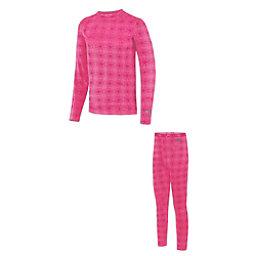 2.0 Thermolator Girls Long Underwear Set, , 256