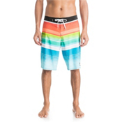 Quiksilver Everyday Stripe 21 Board Shorts, Black, medium
