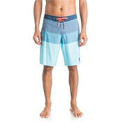 Quiksilver Everyday Blocked 20 Board Shorts, Dark Denim, medium