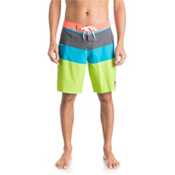 Quiksilver Everyday Blocked 20 Board Shorts, Green Gecko, medium