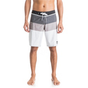 Quiksilver Everyday Blocked 20 Mens Board Shorts, Steeple Grey, medium