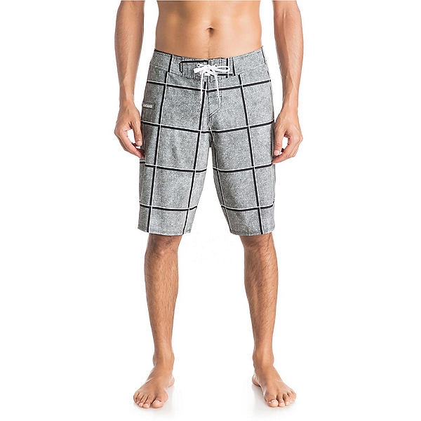 Quiksilver Electric Stretch 21 Mens Board Shorts, Dark Shadow, 600