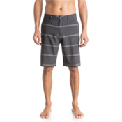 Quiksilver Stripes AMP 21 Mens Board Shorts, Black, medium