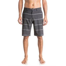Quiksilver Stripes AMP 21 Mens Board Shorts, Black, 256
