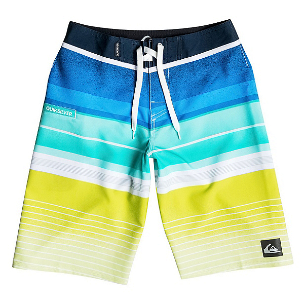 Quiksilver Everyday Stripe Boys Bathing Suit, , 600