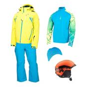 Spyder Monterosa Jacket & Spyder Bormio Pant Men's Outfit, , medium