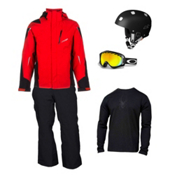 Spyder Chambers Jacket & Spyder Troublemaker Pant Men's Outfit, , medium