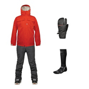 686 Authentic Moniker Jacket & 686 Parklan Parcel Pant Men's Outfit, , medium