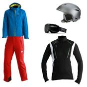 Descente Canada Ski Cross Jacket & Descente Peak Pant Men's Outfit, , medium