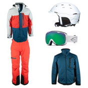 Obermeyer Oxnard Jacket & Obermeyer Batten Pant Men's Outfit, , medium