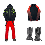 Spyder Pinnacle Jacket & Spyder Bormio Pant Mens Outfit, , medium