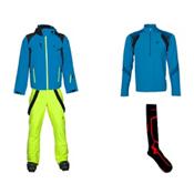Spyder Bromont Jacket & Spyder Bormio Pant Mens Outfit, , medium
