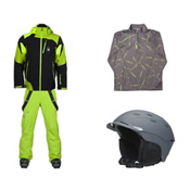 Spyder Leader Jacket & Spyder Dare Athletic Pant Mens Outfit, , medium