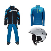 Spyder Titan Jacket & Spyder Dare Athletic Pant Mens Outfit, , medium