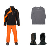 Spyder Rival Jacket & Spyder Propulsion Pant Mens Outfit, , medium