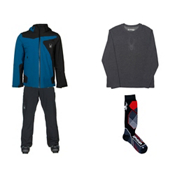 Spyder Sentinal Jacket & Spyder Troublemaker Pant Mens Outfit, , medium