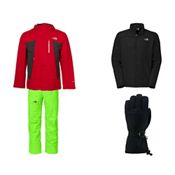 The North Face Plasma ThermoBall Jacket & The North Face Freedom Insulated Pant Mens Outfit, , medium