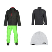 The North Face Hickory Pass Jacket & The North Face Freedom Insulated Pant Mens Outfit, , medium