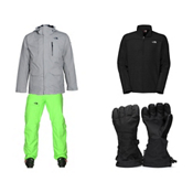 The North Face ThermoBall Snow Triclimate Jacket & The North Face Freedom Insulated Pant Mens Outfit, , medium