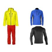 Descente Rogue Jacket & Descente Steep Pant Mens Outfit, , medium
