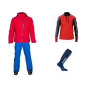 Descente Revolve Jacket & Descente Stock Pant Mens Outfit, , medium
