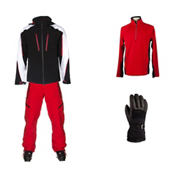 Obermeyer Charger Jacket & Obermeyer Process Pant Mens Outfit, , medium