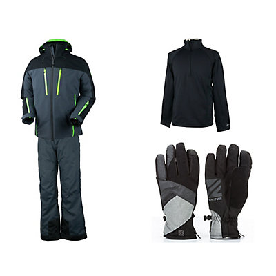 Obermeyer Fast Jacket & Obermeyer Quantum Pant Mens Outfit, , large