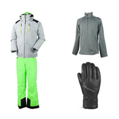 Obermeyer Foundation Jacket & Obermeyer Quantum Pant Mens Outfit, , medium