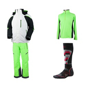 Obermeyer Ranger Jacket & Obermeyer Process Pant Mens Outfit, , medium