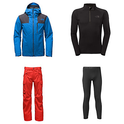 The North Face Maching Jacket & The North Face Gatekeeper Pants Mens Outfit, , large