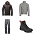 The North Face Powdance Jacket & The North Face Freedom Insulated Pants Mens Outfit
