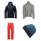 The North Face Hickory Pass Jacket & The North Face Freedom Pants Mens Outfit, , medium