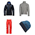 The North Face Hickory Pass Jacket & The North Face Freedom Pants Mens Outfit