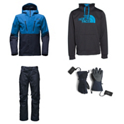 The North Face Baron Jacket & The North Face Freedom Pants Mens Outfit, , medium
