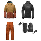 The North Face Brogoda Jacket & The North Face Slasher Cargo Pants Mens Outfit, , medium
