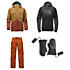 The North Face Brogoda Jacket & The North Face Slasher Cargo Pants Mens Outfit