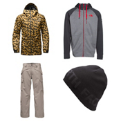 The North Face Tight Ship Jacket & The North Face Slasher Cargo Pants Mens Outfit, , medium