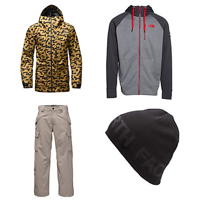 The North Face Tight Ship Jacket & The North Face Slasher Cargo Pants Mens Outfit, , large