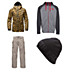 The North Face Tight Ship Jacket & The North Face Slasher Cargo Pants Mens Outfit