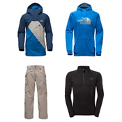 The North Face Dubs Jacket & The North Face Slasher Cargo Pants Mens Outfit, , medium