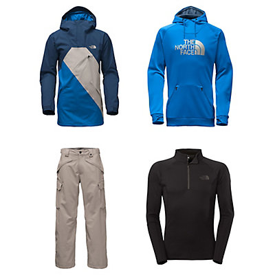 The North Face Dubs Jacket & The North Face Slasher Cargo Pants Mens Outfit, , large