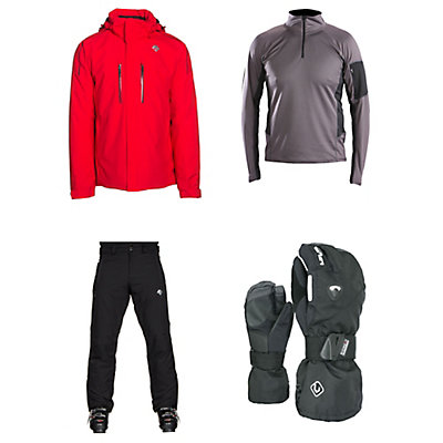 Descente Glade Jacket & Descente Stock 1 Pants Mens Outfit, , large