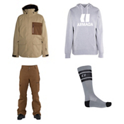 Armada Atka Gore-Tex Jacket & Armada Bleeker Gore-Tex Pants Mens Outfit, , medium