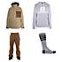 Armada Atka Gore-Tex Jacket & Armada Bleeker Gore-Tex Pants Mens Outfit