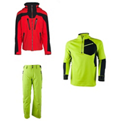 Obermeyer Spartan Jacket & Obermeyer Process Pants Mens Outfit, , medium