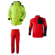 Obermeyer Charger Jacket & Obermeyer Process Pants Mens Outfit, , medium