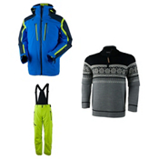 Obermeyer Trilogy 3 in 1 Jacket & Obermeyer Force Suspender Pants Mens Outfit, , medium