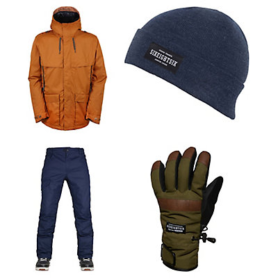 686 Parklan Field Jacket & 686 Parklan Shadow Pants Mens Outfit, , large