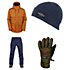 686 Parklan Field Jacket & 686 Parklan Shadow Pants Mens Outfit